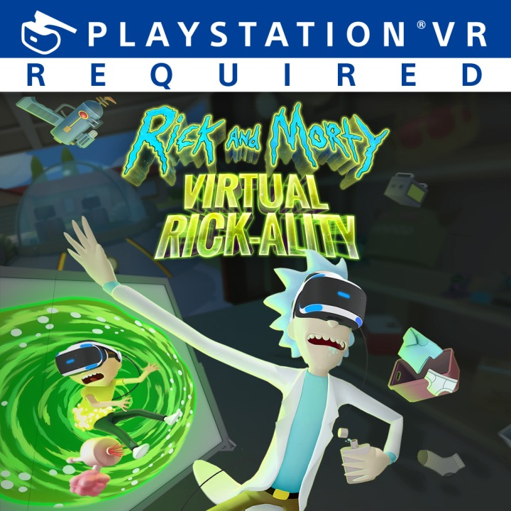 RickandMorty-VirtualRick-ality PS VR Jaquette 001