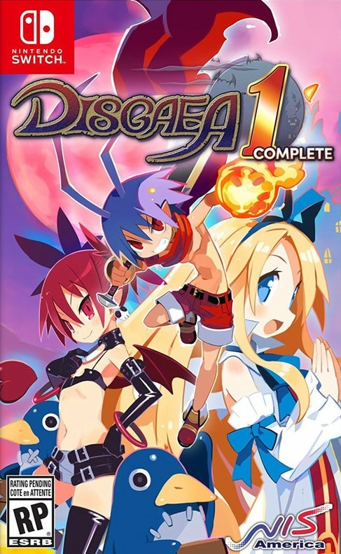 Disgaea1Complete Switch Jaquette 001