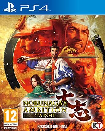 Nobunaga-sAmbition-Taishi PS4 Jaquette 001
