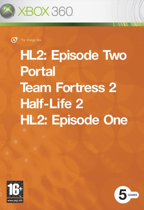 Half-Life2 OrangeBox 360 Jaquette