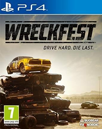 Wreckfest PS4 Jaquette 001