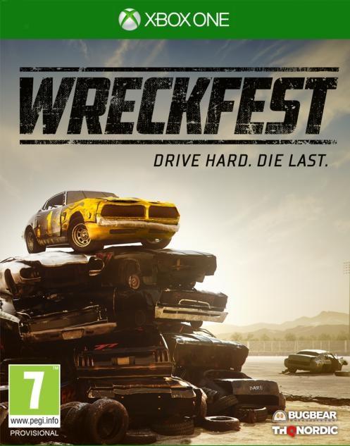Wreckfest XB1 Jaquette 001