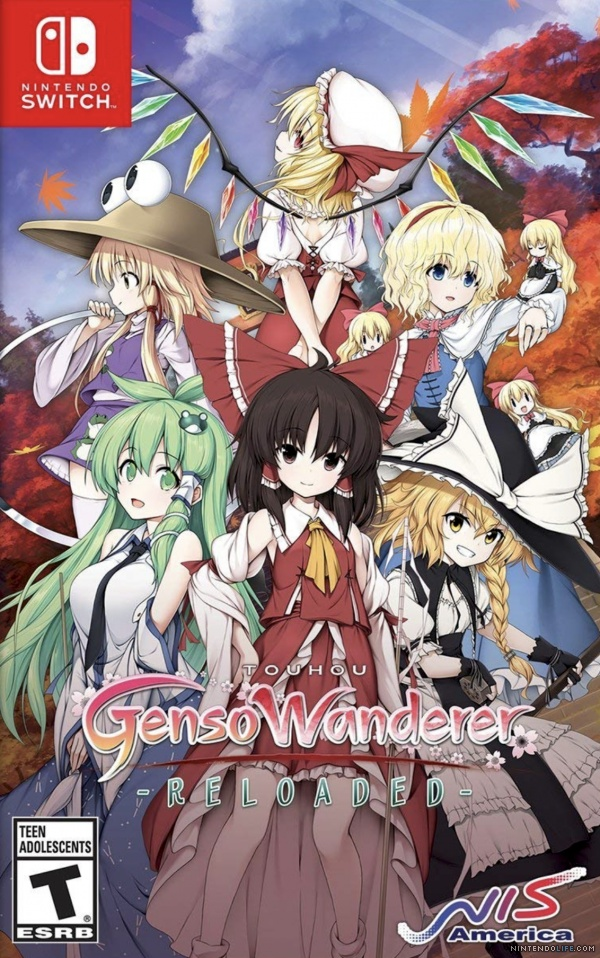 TouhouGensoWandererReloaded Switch Jaquette 001