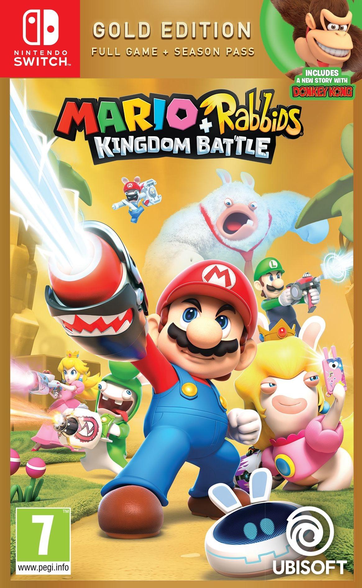 Mario-TheLapinsCretinsKingdomBattle-DonkeyKongAdventure Switch Jaquette 001