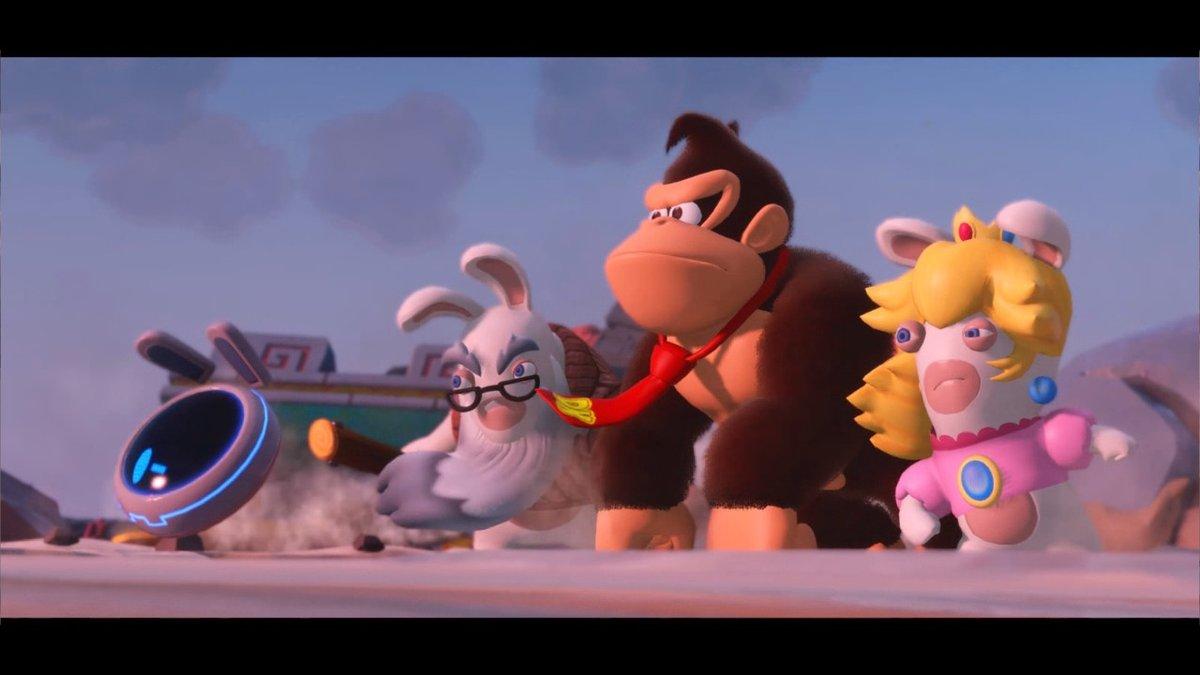 Mario-TheLapinsCretinsKingdomBattle-DonkeyKongAdventure Switch Test 005