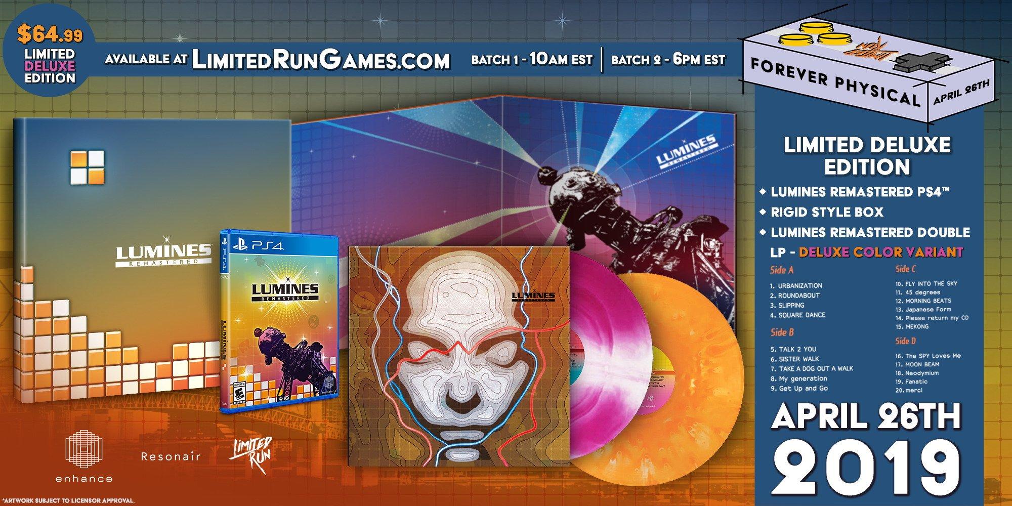 DeluxeEdition Lumines PS4