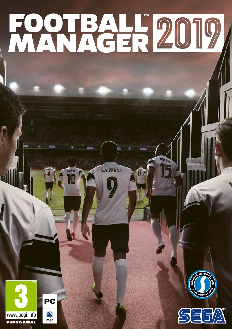 FootballManager2019 PC Jaquette 001