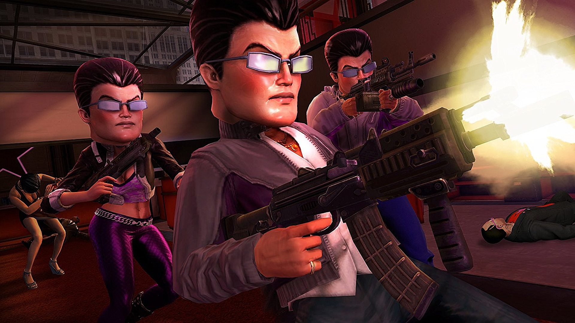Saints-Row The-Third-Bank-Robbers