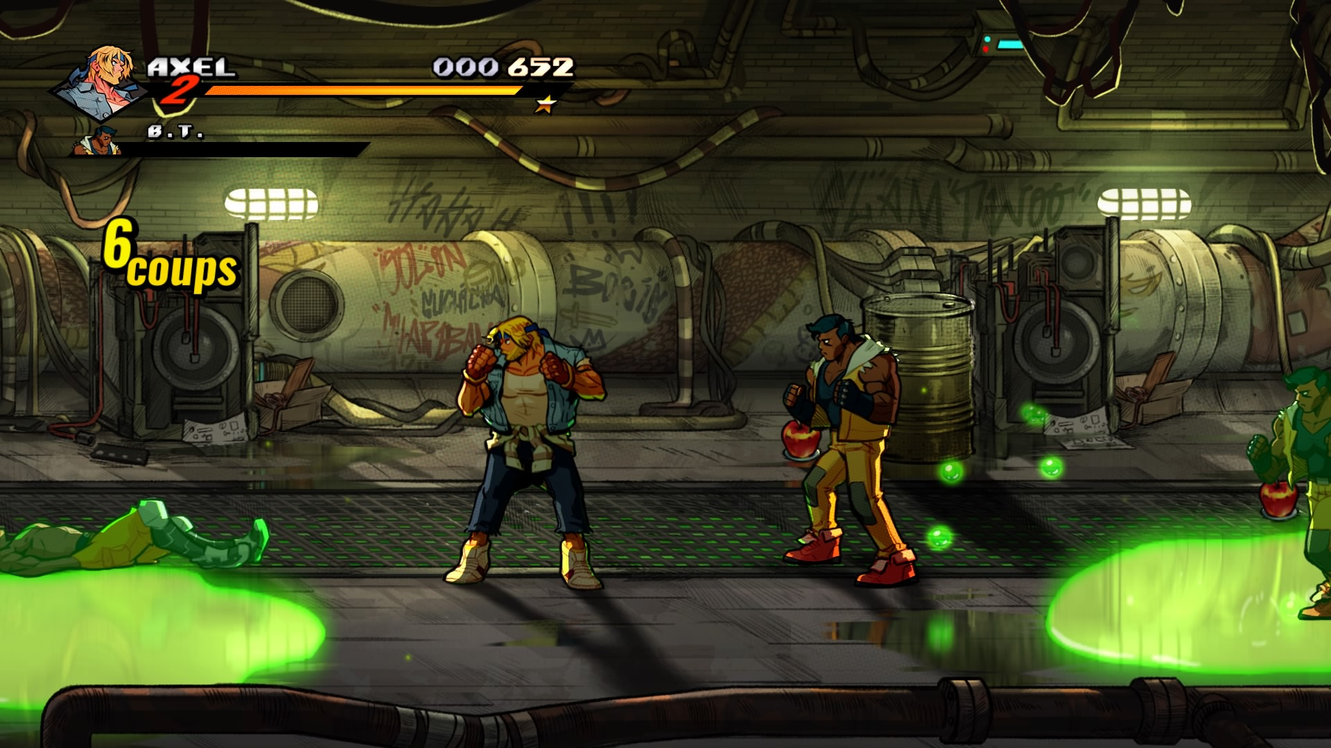 StreetsofRage4 PS4 Test 007