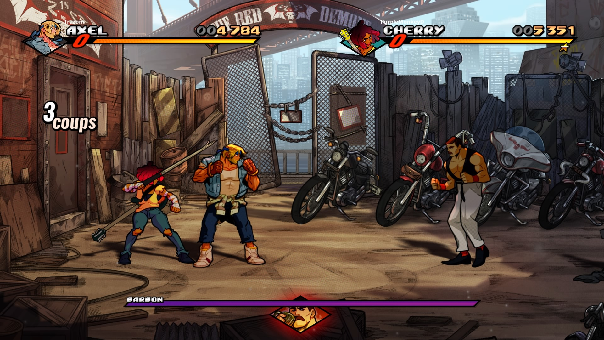 StreetsofRage4 PS4 Test 019