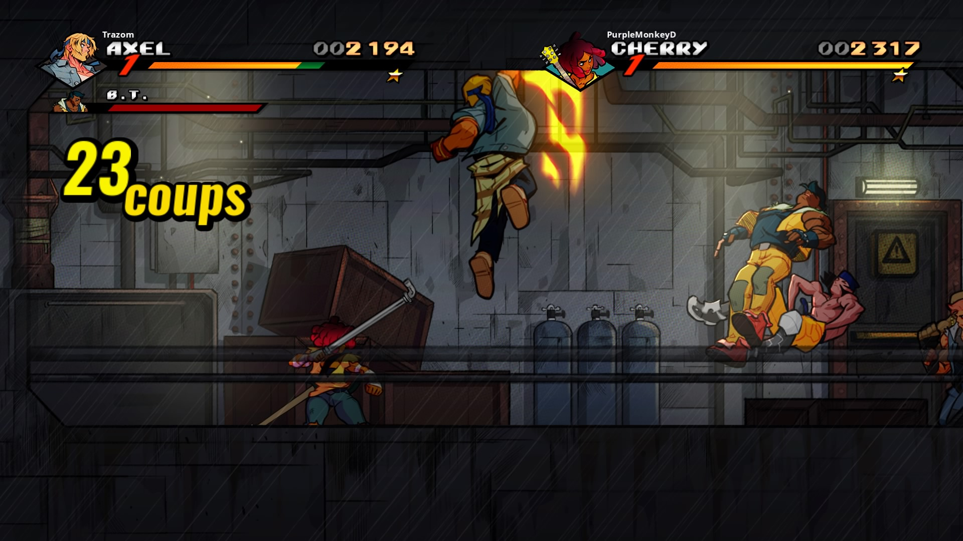 StreetsofRage4 PS4 Test 022