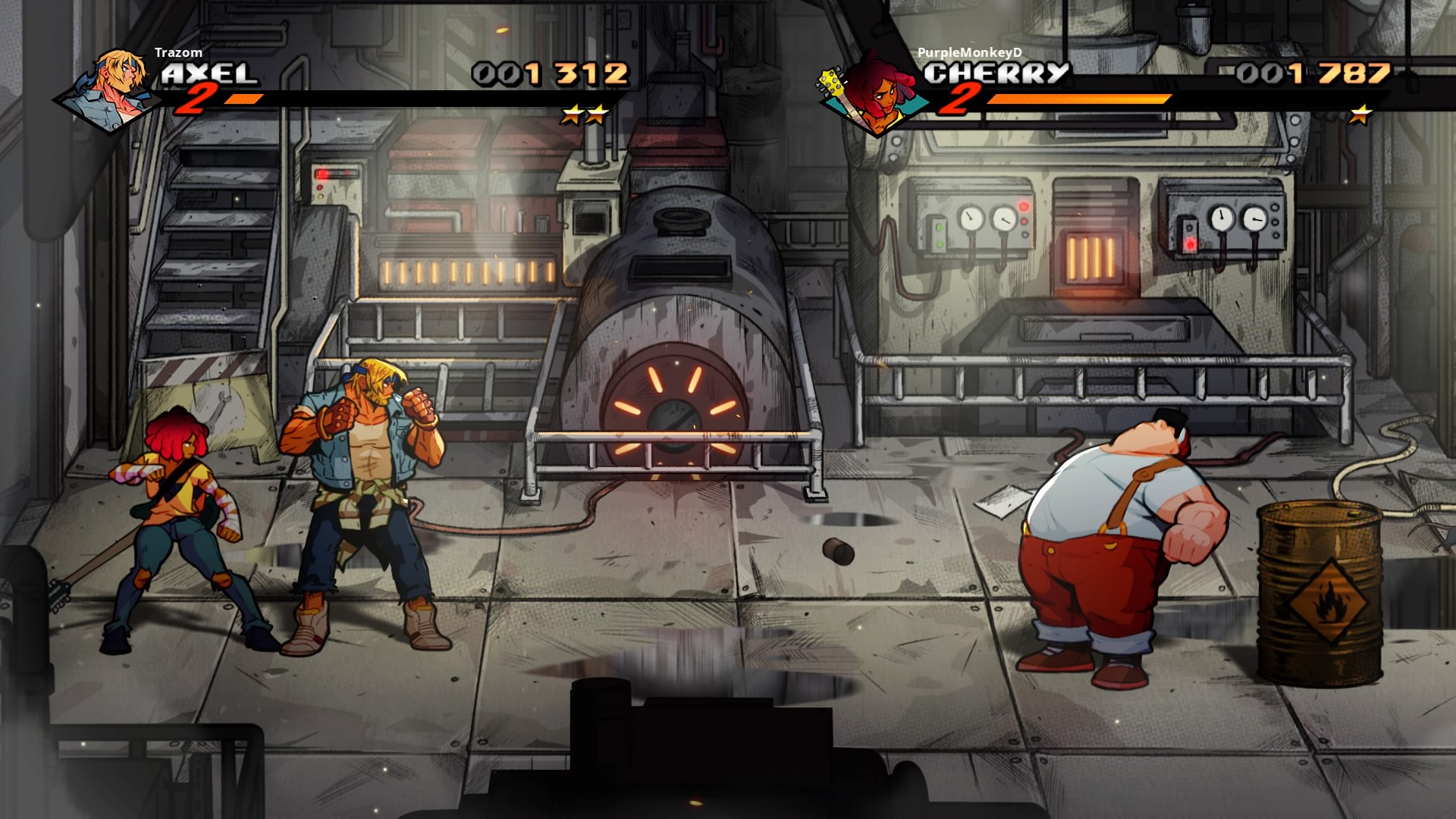 StreetsofRage4 PS4 Test 023