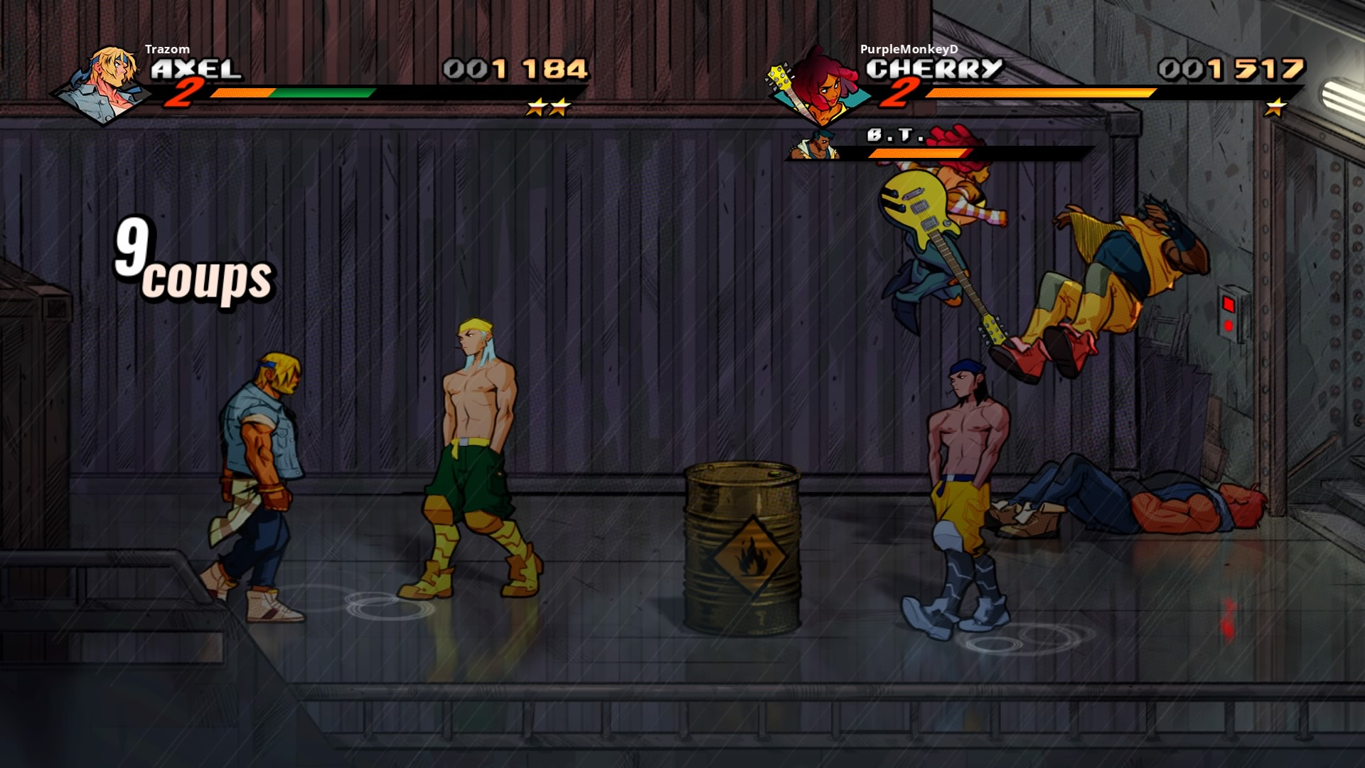 StreetsofRage4 PS4 Test 024