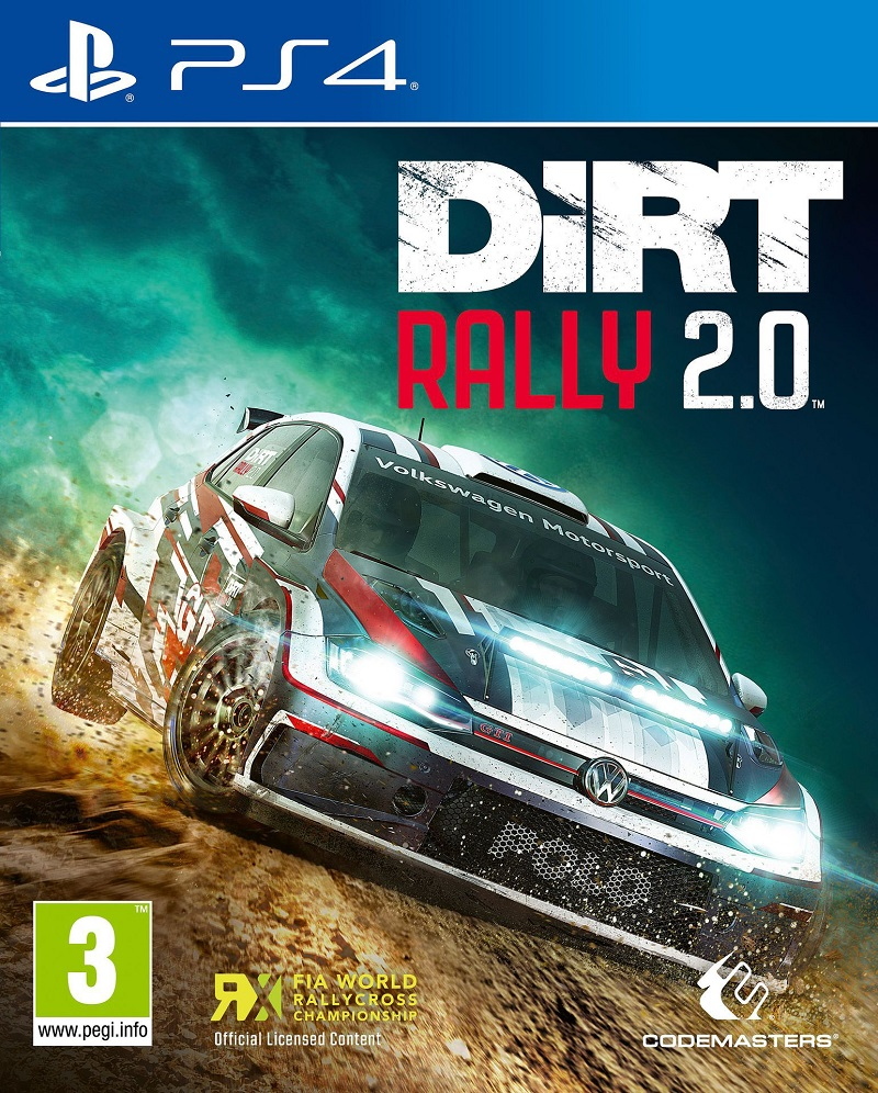 DiRTRally2.0 PS4 Jaquette 002