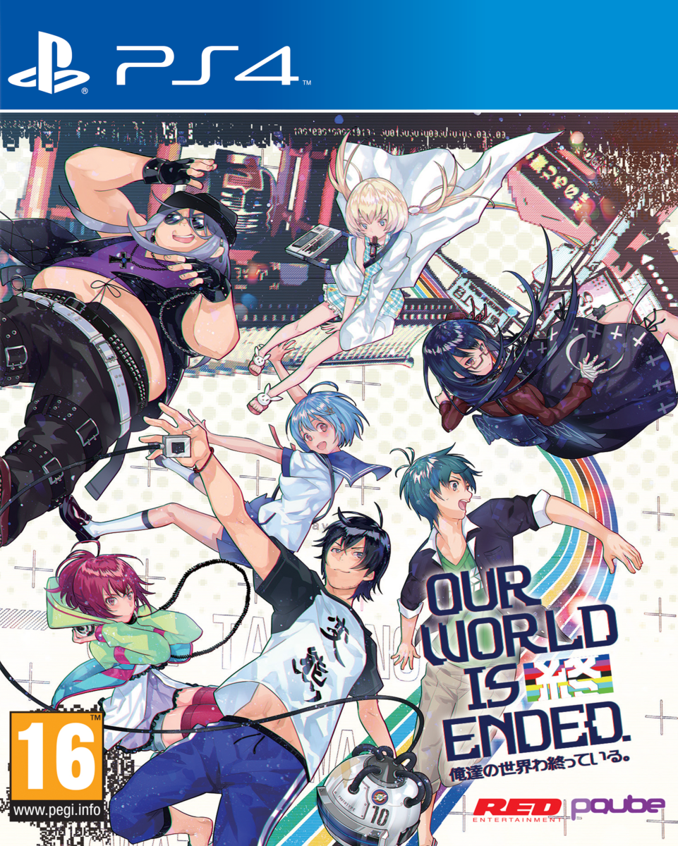 OurWorldisEnded PS4 Jaquette 001