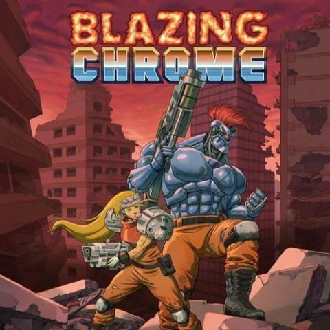 Blazing Chrome, le chrome blasant?? c'est pas faux...