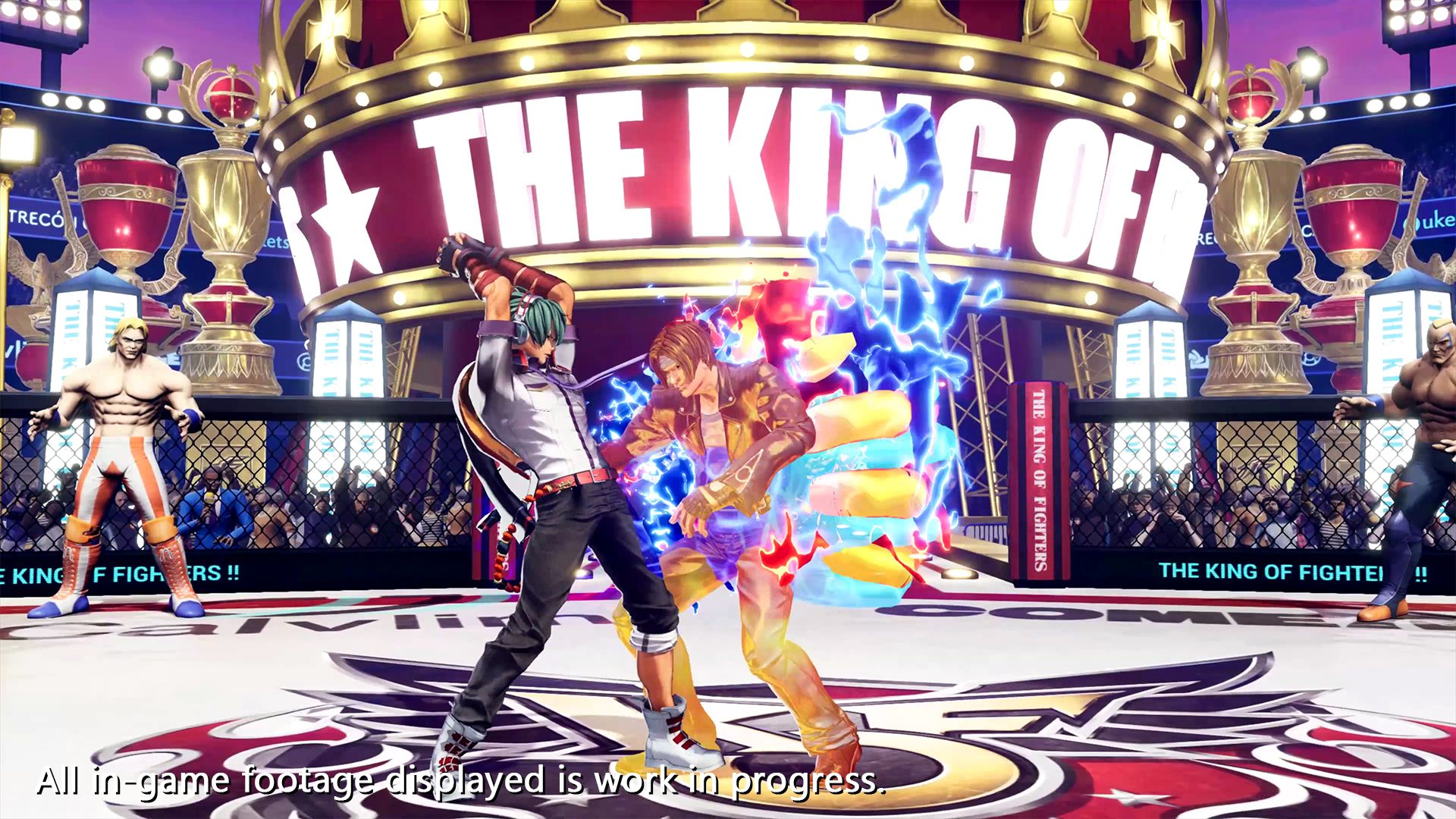 TheKingofFightersXV PS4 Editeur 012
