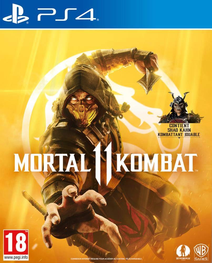 MortalKombat11 PS4 Jaquette 001