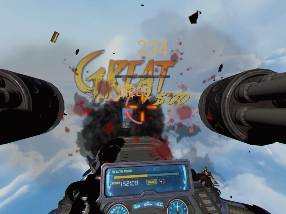 GunGraveVR PS4 Test 013