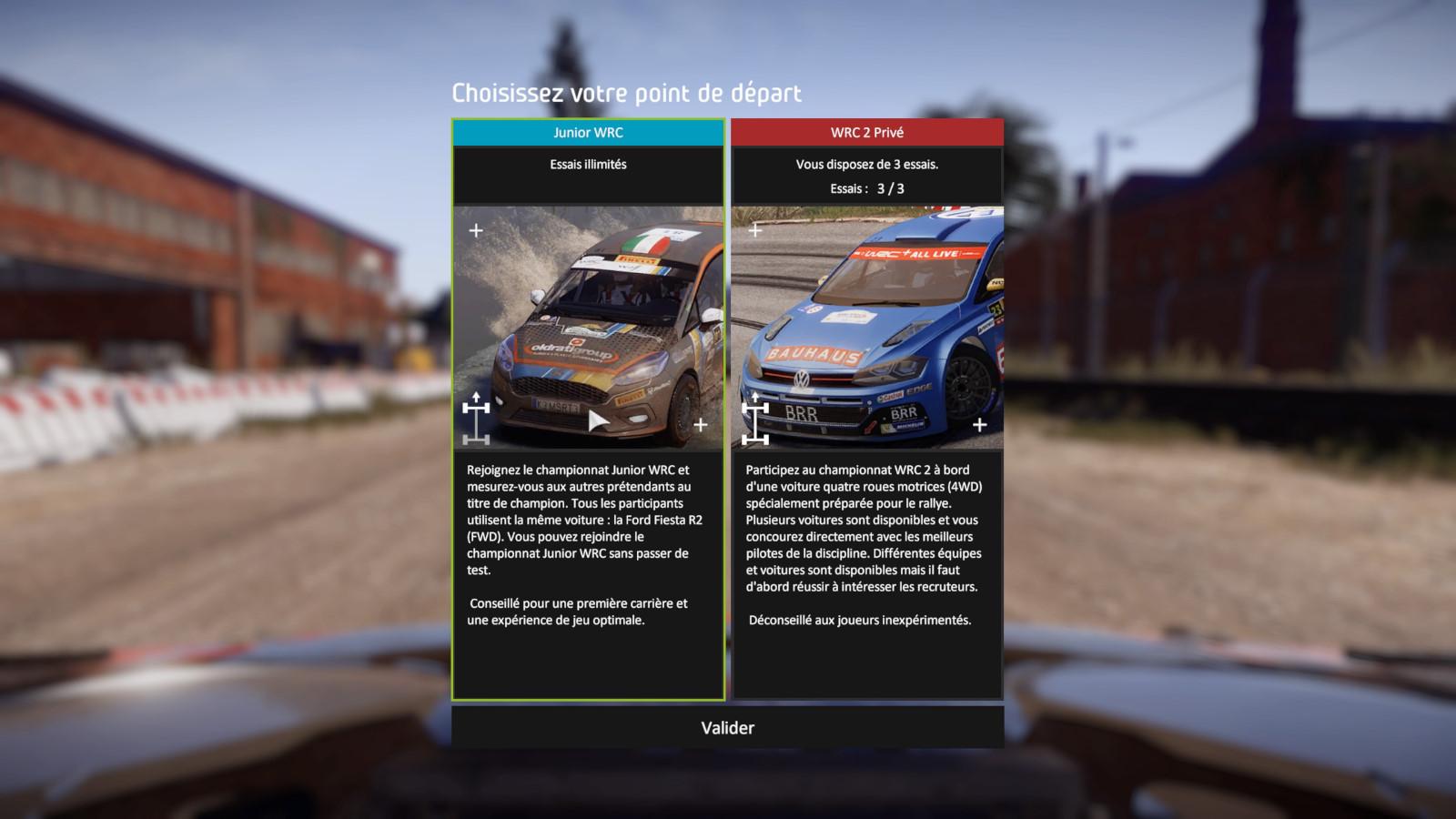WRC8 PS4 Test 001