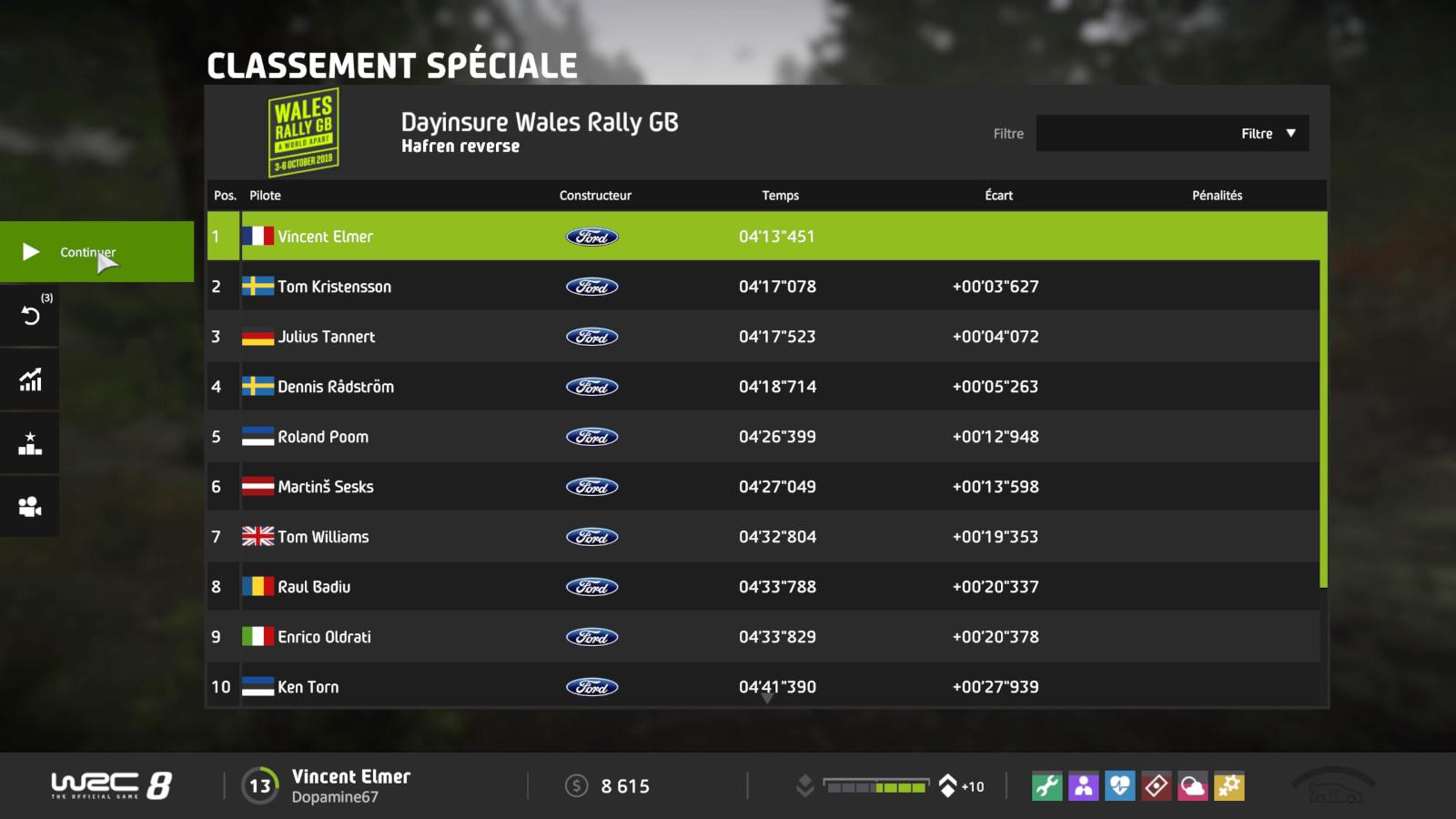 WRC8 PS4 Test 015