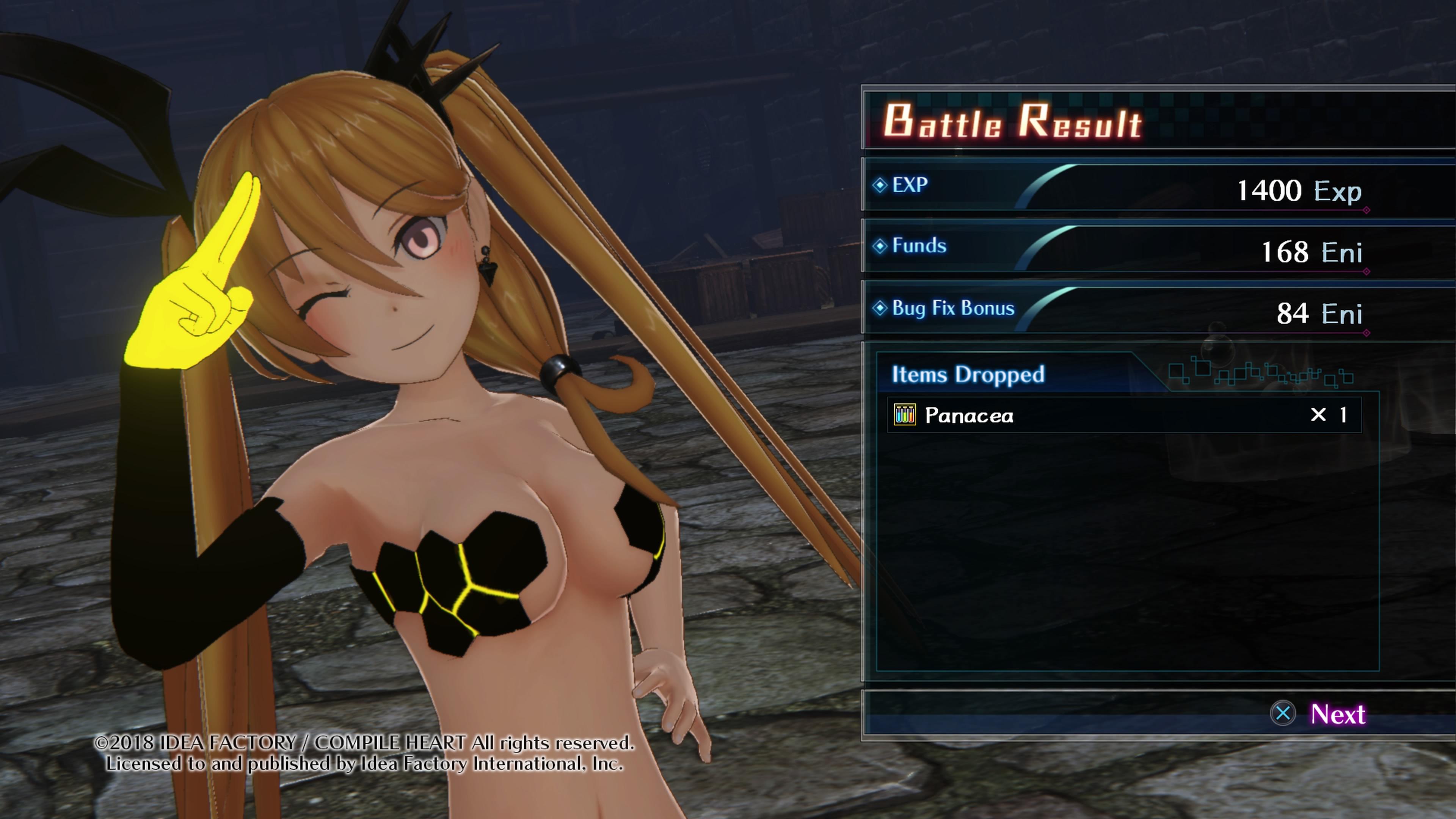 DeathendRe-Quest PS4 Test 006