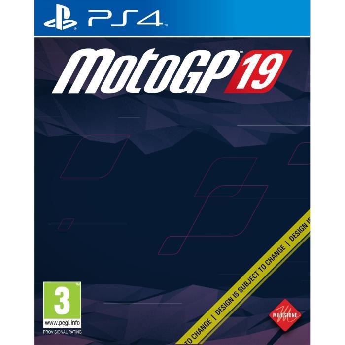 MotoGP19 PS4 Jaquette 001