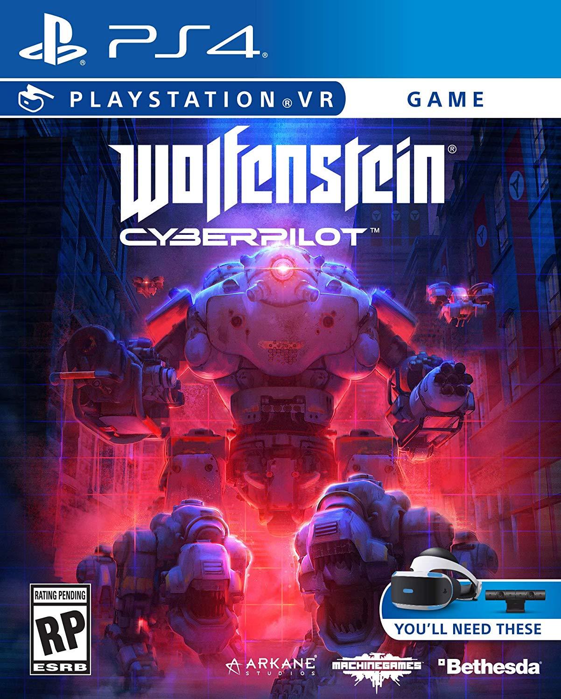 Wolfenstein-Cyberpilot PS VR Jaquette 001