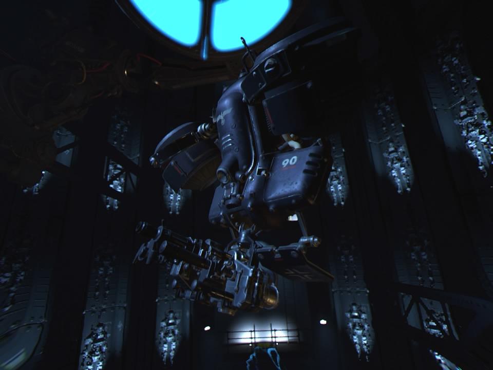 Wolfenstein-Cyberpilot PS VR Test 017