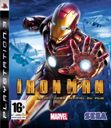 Ironman PS3 Jaquette