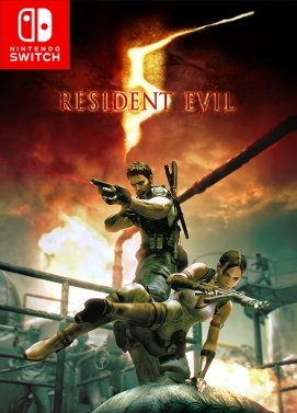 ResidentEvil5 Switch Jaquette 001