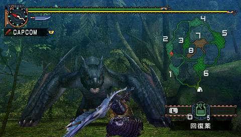 MonsterHunterPortable2ndG PSP Edit003