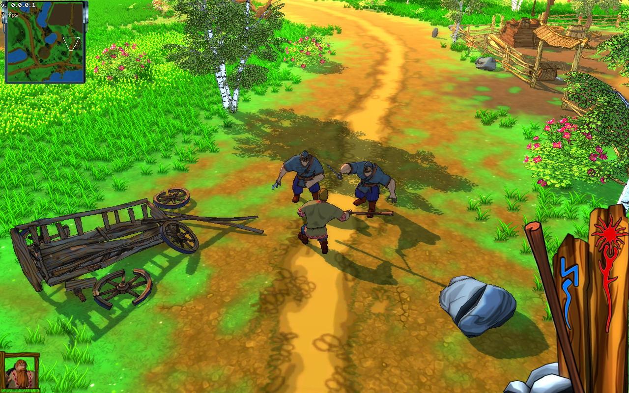 FairyTalesThreeHeroes PC Editeur 001