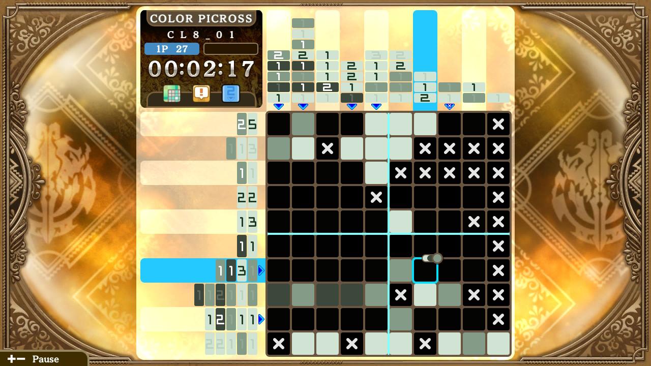 Picross-LordoftheNazarick Switch Test 004