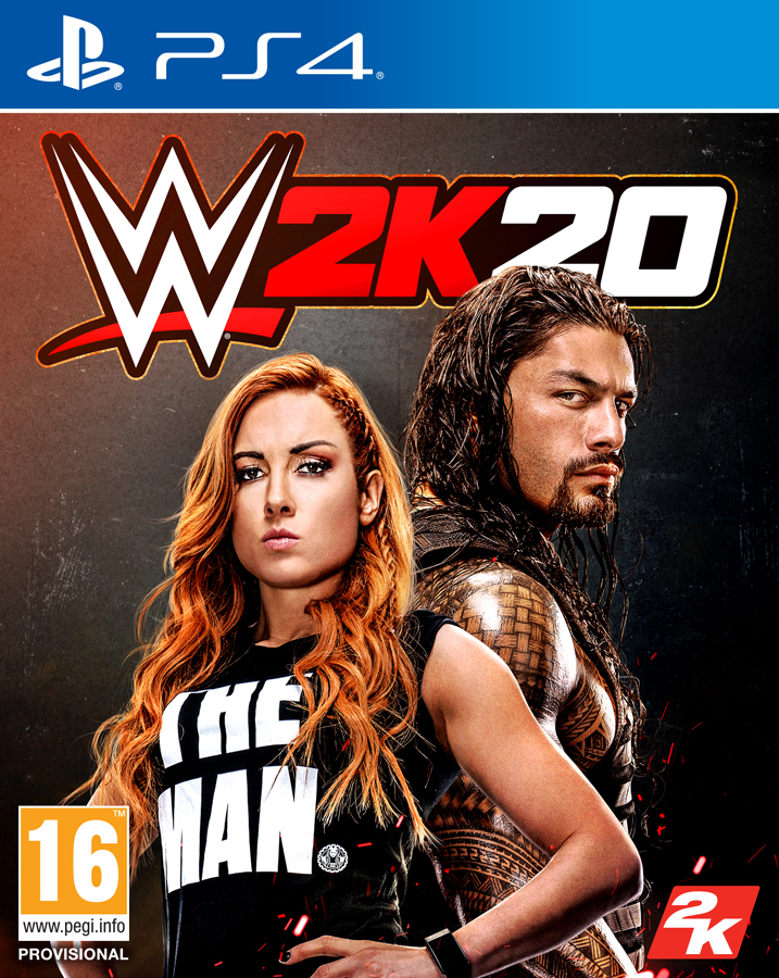 WWE2K20 PS4 Jaquette 001