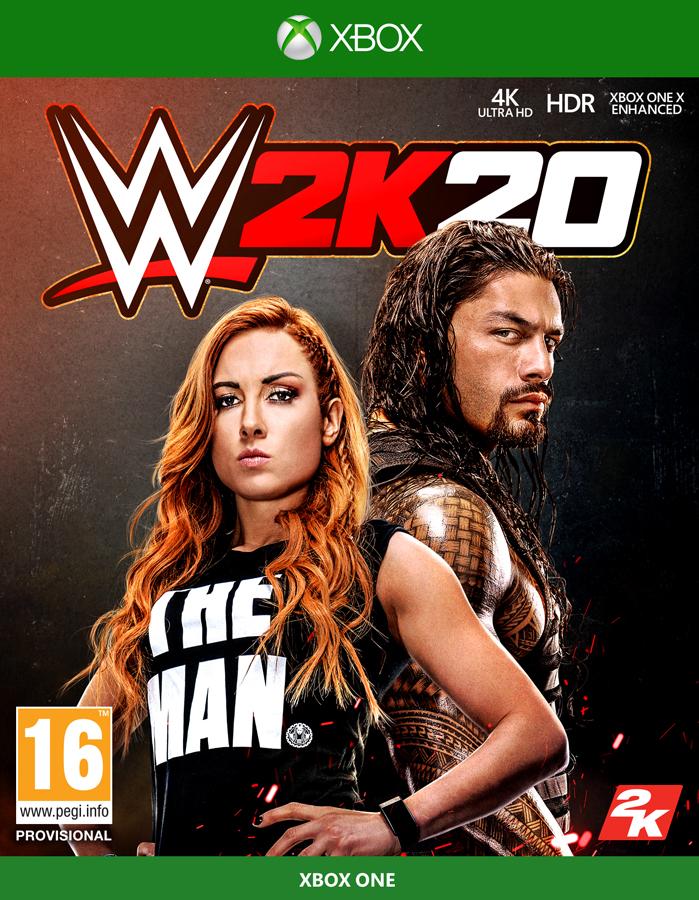 WWE2K20 XB1 Jaquette 001