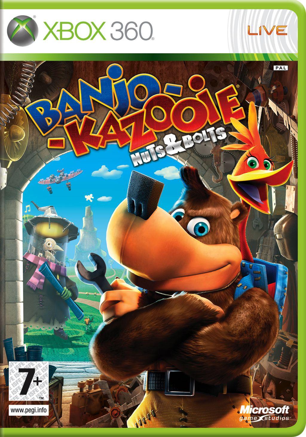 Banjo-Kazooie X360 Jaquette