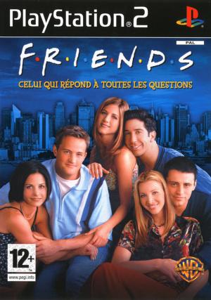 Friends-CeluiquiRepondatouteslesQuestions PS2 Jaquette 001