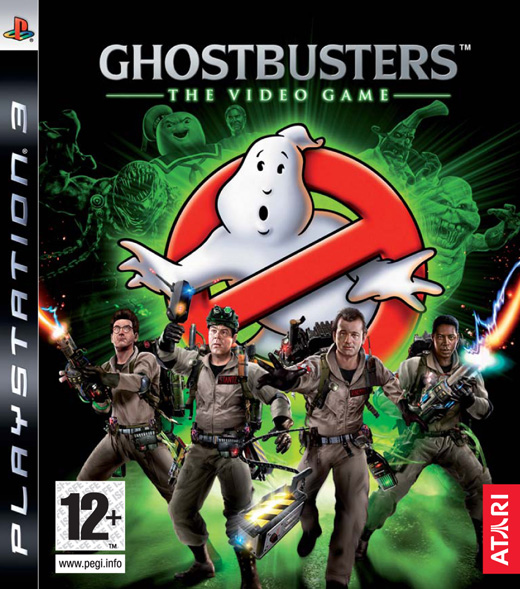 Ghostbusters PS3 jaquetteFR