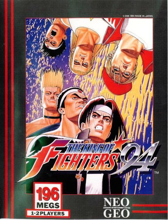 TheKingofFighters-94 NeoGeo Jaquette 002