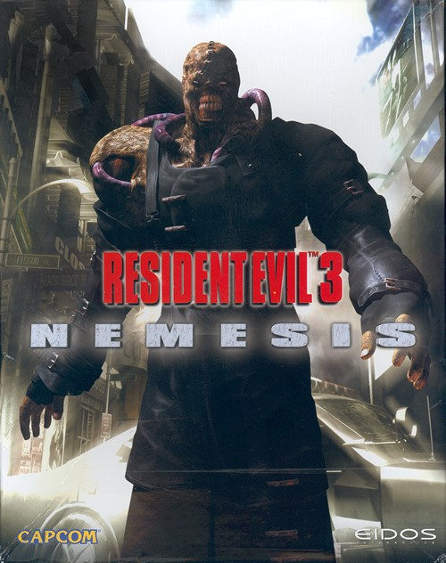 ResidentEvil3Nemesis PC Jaquette