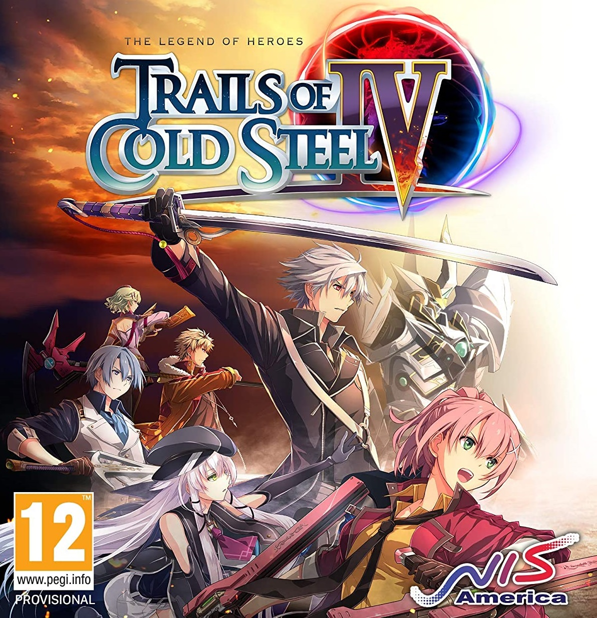 The Legend of Heroes : Trails of Cold Steel IV -The End of Saga-