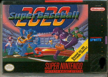 SuperBaseball2020 SNES Jaquette