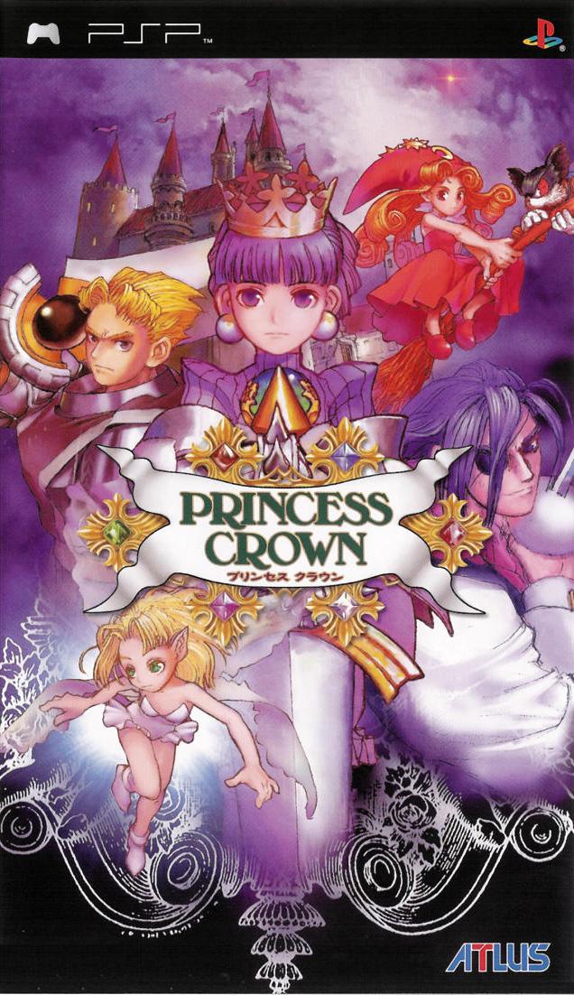 PrincessCrown PSP Jaquette