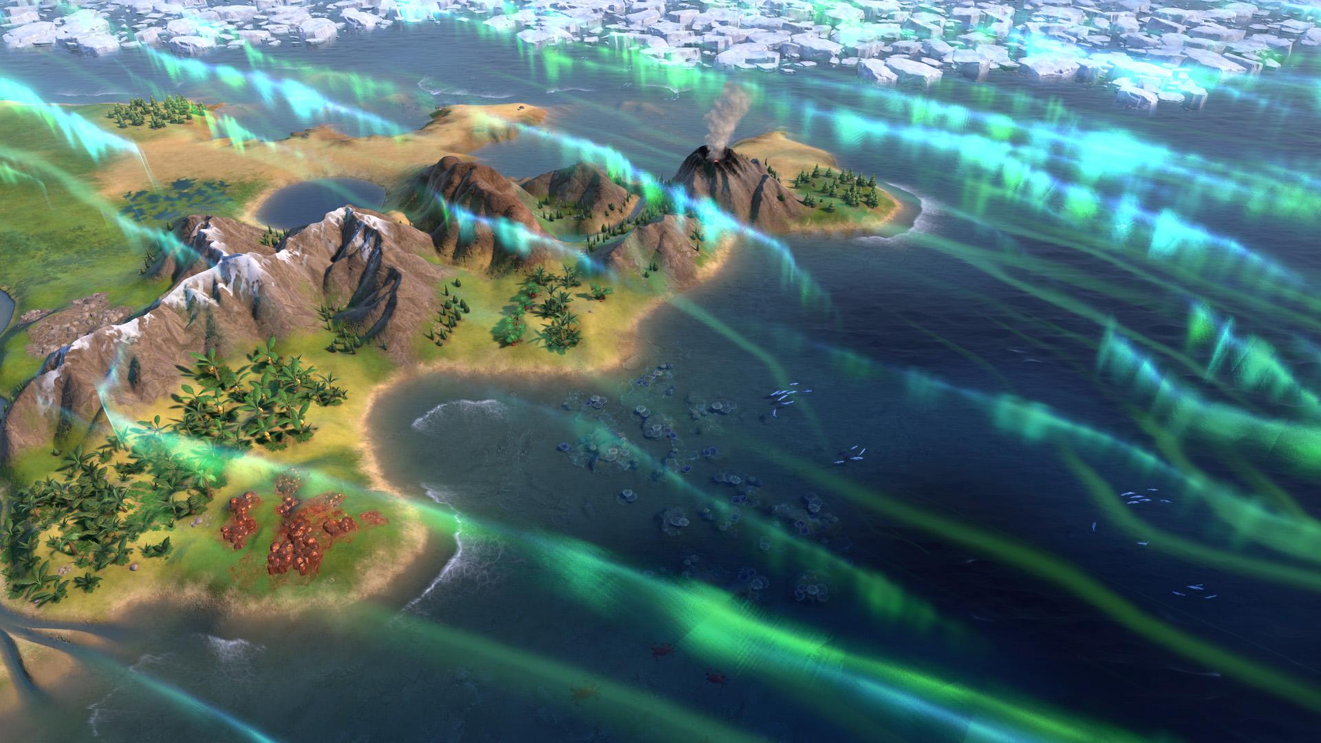 Civilization VI - New Frontier Pass - Maya - Gran Colombia Pack - Apocalypse Mode Solar Flare