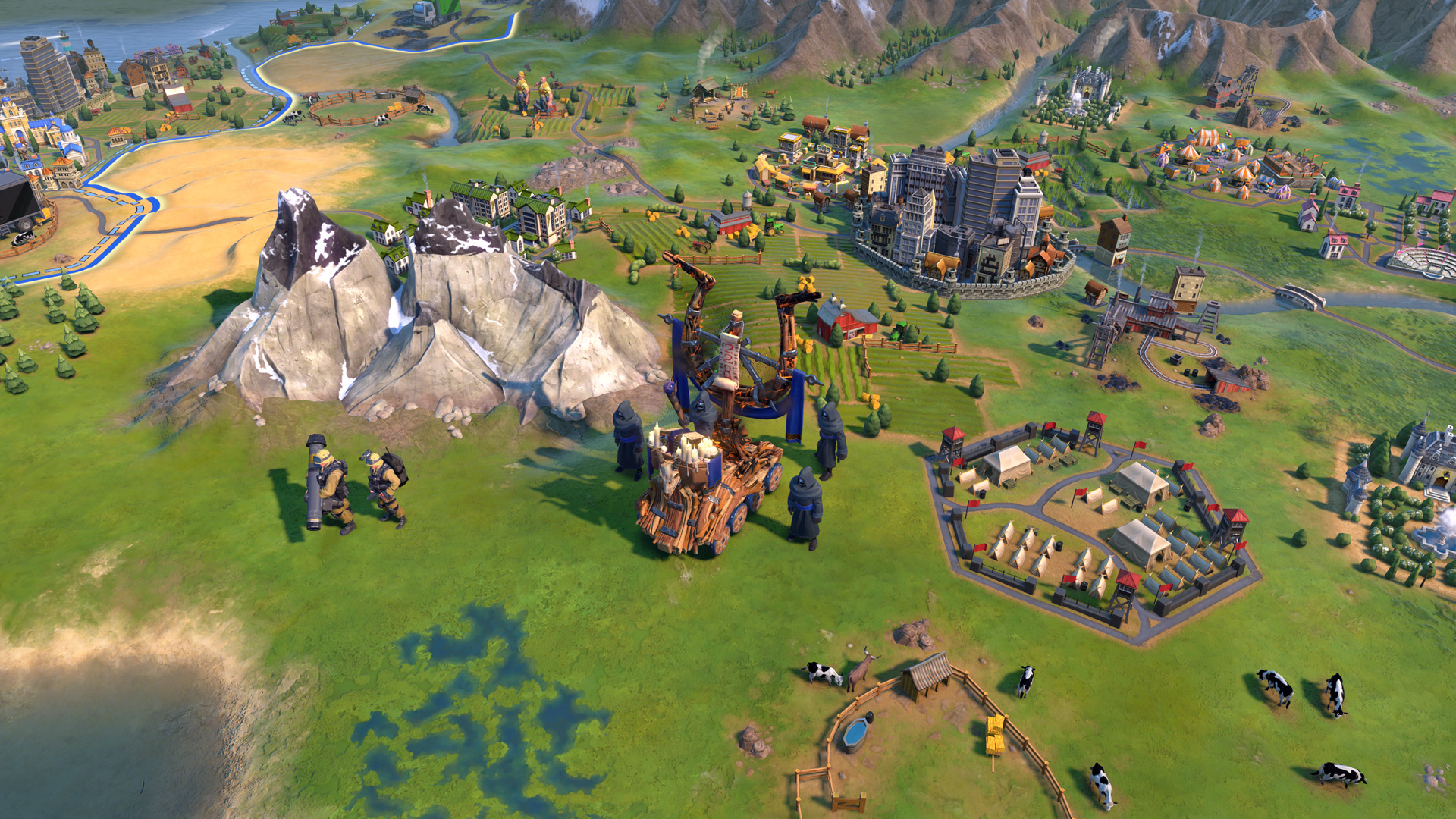 Civilization VI - New Frontier Pass - Maya - Gran Colombia Pack - Apocalypse Mode Soothsayer Unit
