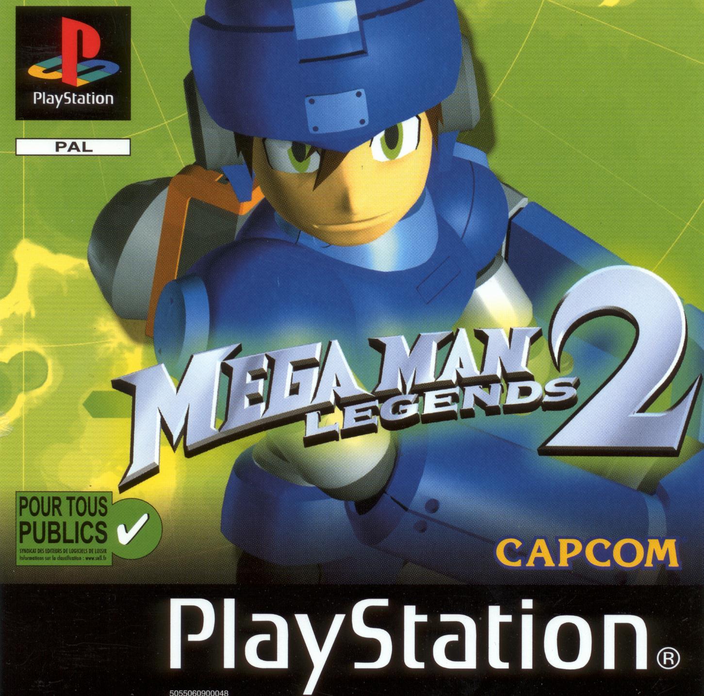 Megaman2 PS Jaquette