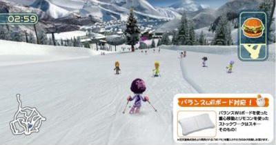 Family Ski Wii div001