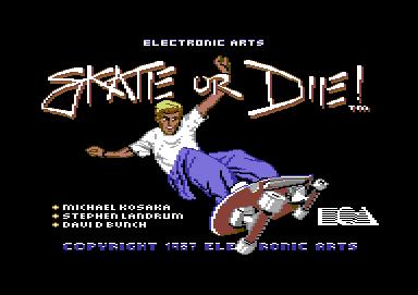 SkateOrDie C64 Ed001