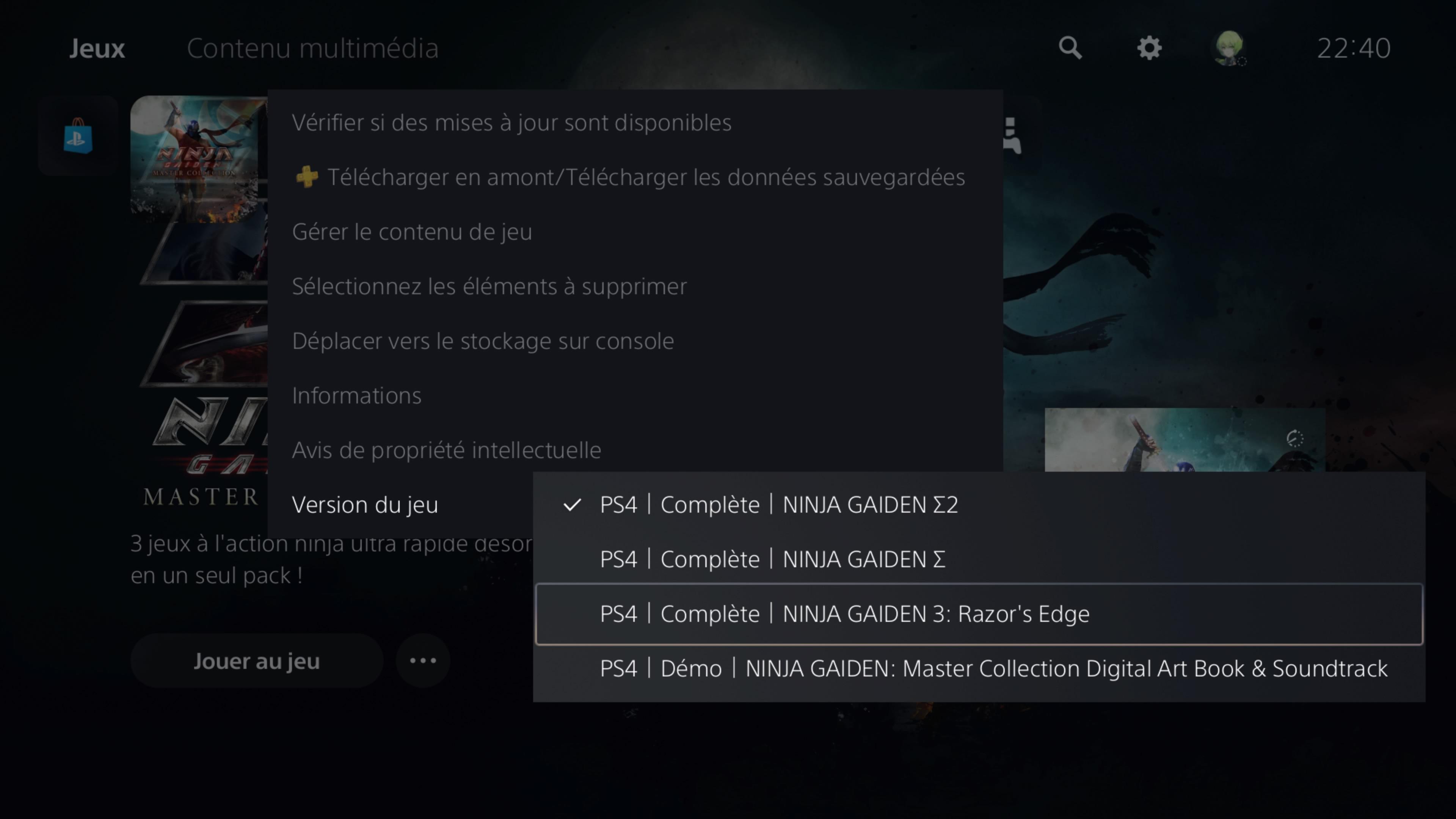 NinjaGaidenMasterCollection PS4 Test 016